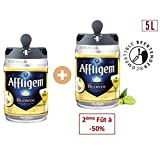 AFFLIGEM Lot de 2 Fûts de biere - Compatible Beertender - 6,7° - 5 L