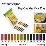 2 Packungen (160pcs) pH Teststreifen Cozywind Urin und Speichel 1-14 Allgemeinen Testpapier