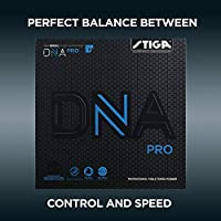 STIGA DNA Pro M, Negro, 2.1 Table Tennis Rubber, Unisex-Adult, One Size
