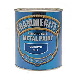 Hammerite Metal Paint Smooth ICI 5092826 750ml - Blue