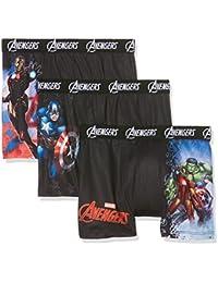 Marvel Jungen Boxershorts 3er Pack