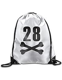 Preisvergleich für MaJack 28 Coole Turnbeutel mit Kordelzug zum Zuziehen, für Reisen, Schulrucksack