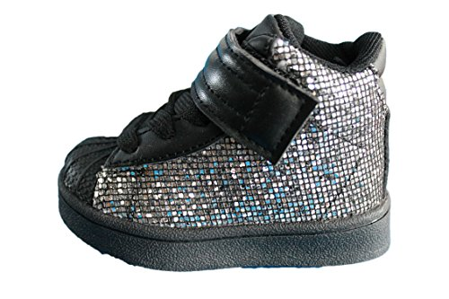 rock and joy baskets avec strass-noire-fille