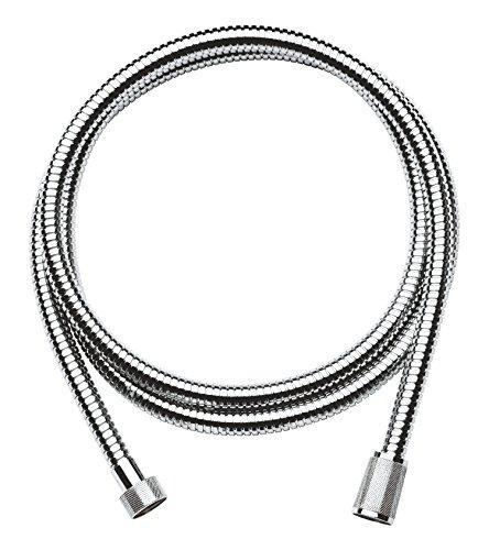 GROHE Relexaflex/Brause- und Duschsysteme - Brauseschlauch/2 m, Metall Oberfläche Chrom,