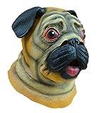 Máscara linda del perro del bar látex Cabeza de animal Sombrero para el partido del traje de Halloween