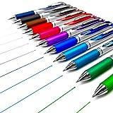 Pentel Energel Xm BL77–Retractable Liquid-Gel Ink Pen–0.7mm–52% recycelt –, 11Stück
