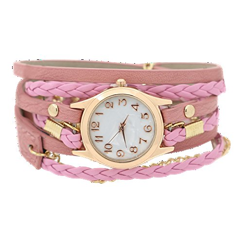 charming-vintage-weave-wrap-leather-chain-bracelet-watch-for-womens-ladies-pink