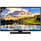 """HITACHI 32HB4T62 32"""" FULL HD Smart TV Wi-Fi LED TV DVBT2/C/S2, Nero"""