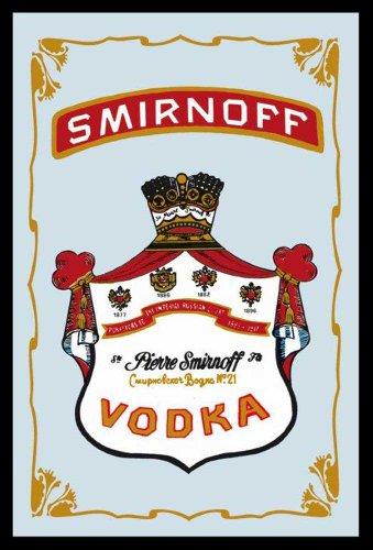 empire-552082-miroir-imprime-avec-cadre-en-plastique-facon-bois-vodka-smirnoff-20-x-30-cm