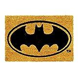 trendaffe Batman Fußmatte - Batman Logo Fußabtreter Schmutzfangmatte Türmatte