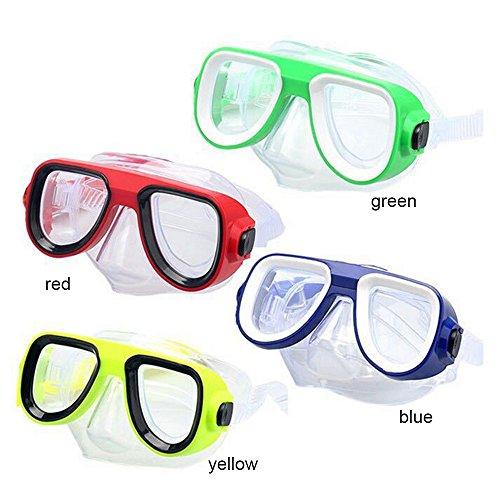 Asdomo Tauch- und Schnorchelmaske Antibeschlag, Silikon, Flexible Taucherbrille für Kinder und...