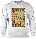 Welcome to the Lake Angler Sweater for Boys, Farbe Grau, Pop Art Style