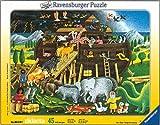 Ravensburger 06640 - Arche Noah, 45 Teile Rahmenpuzzle