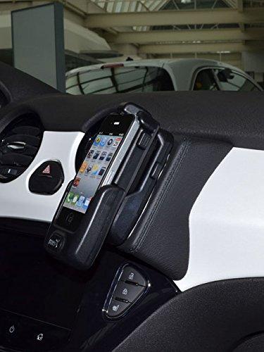 KUDA Telefonkonsole für Opel Adam ab 2013 Kunstleder schwarz