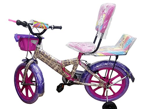 Shaan Kids 16T Bicycle Pink for Boys and Girls 5-8 Years Age