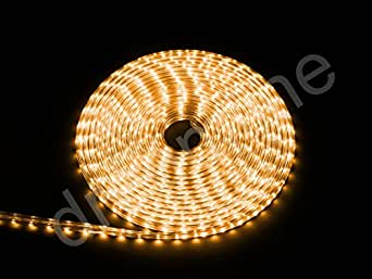 Bande LED Blanc Chaud 25m + protection IP68230V–1500LED–Intensité variable–Ultra clair