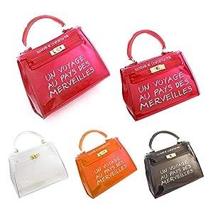 cineman Damenhandtaschen Neue Koreanische Version All-Matched Candy Farbe Gelee Paket Transparente Tasche Mode Handtasche Umhängetasche