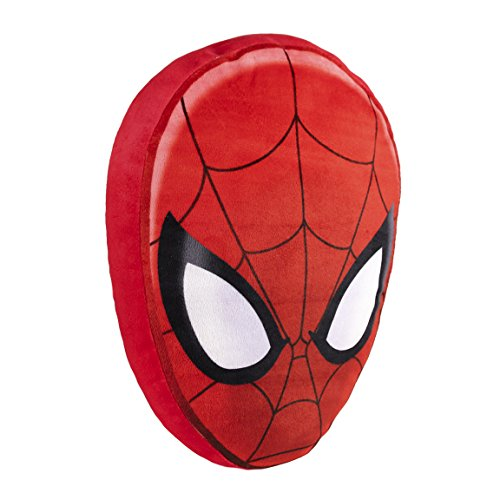 "Marvel 2600000121 Cuscino con ""volto di Spiderman"", 35 cm"