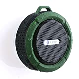 Waterproof Bluetooth Speaker, AGPtEK® Wireless Portable Travel Bluetooth Speakers with Microphone, Mini Bluetooth