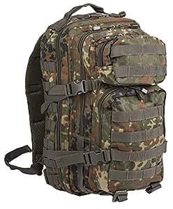 Camouflage Militaire Armée Sac à dos US assault pack 30L MOLLE Flecktarn