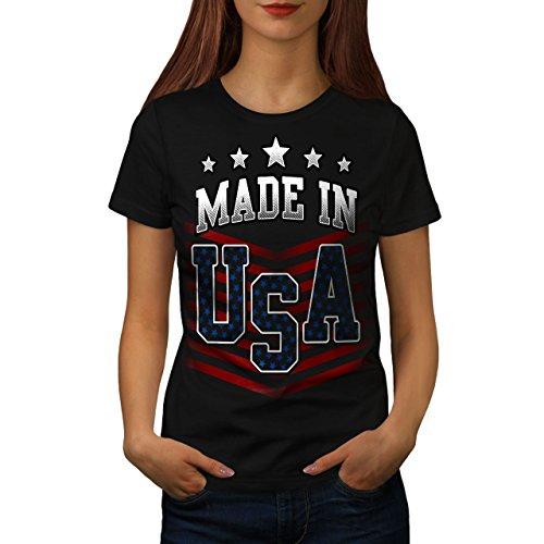 Usa-t-shirt Im Gemacht (wellcoda Gemacht IM USA Frau 2XL T-Shirt)