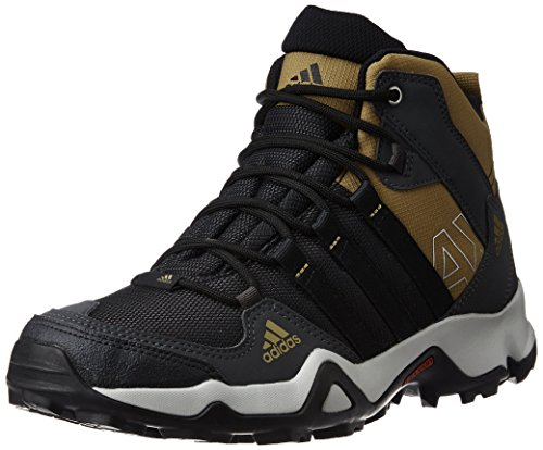 adidas Men's Ax2 Mid Dgsogr, Crakha and Black Multisport Training Shoes - 8 UK/India (42 EU)