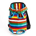 TiaoBug Dog Portable Backpack Carrier Pet Outdoor Travel Bag Hiking Camping 12