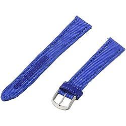 Momentum ZC-18KEV BLUE 18mm Kevlar Canvas Blue Watch Strap