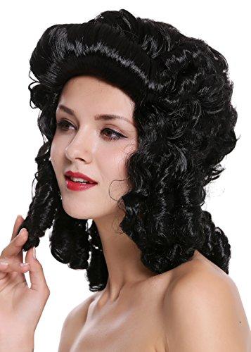 Wig me up - 91022-ZA103 Perücke Damen Karneval Fasching Barock Locken Königin Marie Antoinette...