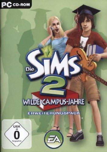 Die Sims 2 - Wilde Campus-Jahre (Add-On) [Software Pyramide] (Erwachsene Sims)