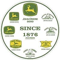 John Deere, con scritta