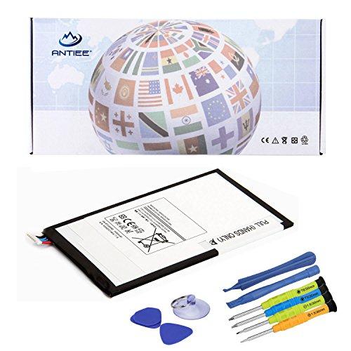 "ANTIEE EB-BT330FBE Tablet Pad Netbook Akku für Samsung Galaxy Tab 4 8.0 T330 T331 T335 8\"" SM-T330 SM-T310 SM-T3110 SM-T315 T331 T335 SM-T337T SM-T337V Laptop EB-BT330FBU 3.8V 4450mAh"