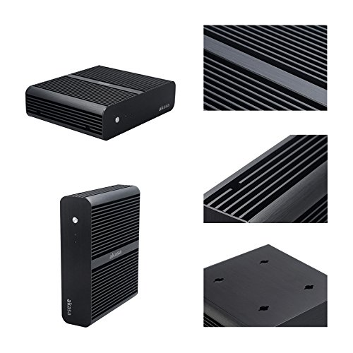 Sedatech Mini-PC Evolution, passive cooling, Intel G3260 2x 3.2Ghz, 8Gb RAM DDR3, 250Gb SSD, USB 3.0, Wifi, Full HD 1080p. Desktop Computer without OS