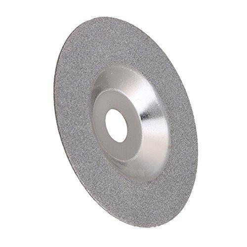 mxfans Diamant Schleifteller Rad Glas 10,2cm für Winkelschleifer 100mm Außen Durchmesser (Winkelschleifer-diamant-rad)
