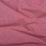 Vichy-Karo Baumwolle 2 mm - Rot-Weiss - 140 cm breit