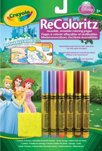 Imagen principal de Crayola - Recoloritz Princesas: 9 Escenas Para Colorear Con Rotuladores 04-5018