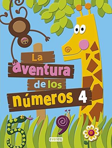 La aventura de los números 4-9788444176765 por Díez Torío Ana María