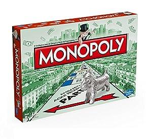 Hasbro Gaming - Juego de mesa Monopoly Clásico (00009521) (versión portuguesa)