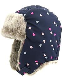 Fancy Luu Gorra de Bombardero para Niñas Sombrero de Invierno Unisex Caperuza Caliente Niñas Orejeras Sombrero de Felpa