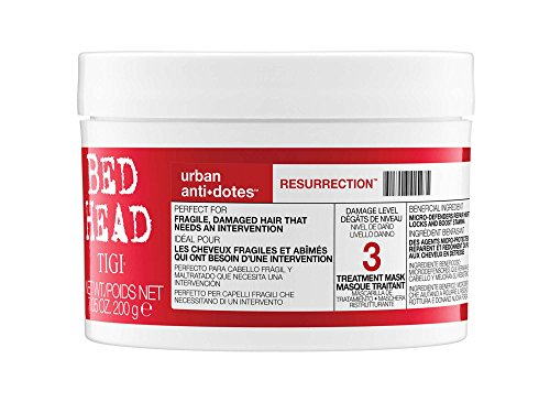 Tigi Bed Head Urban Antidotes 3 Resurrection Treatment Mask, 1er Pack (1 x 200 g) (Behandlung Shampoo Reparatur)