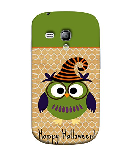 PrintVisa Designer Back Case Cover for Samsung Galaxy S3 Mini (happy halloween funky funny look)  available at amazon for Rs.349