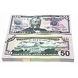 Erduo 10 Teile/Satz Spezielle Amerikanische Goldfolie Dollar Banknote Gefälschte Geld Kunst Handwerk Hoch Sammlung Kunst Bastelbedarf-Gold