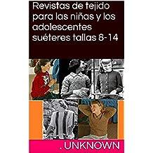 Revistas de tejido para las niñas y los adolescentes suéteres tallas 8-14