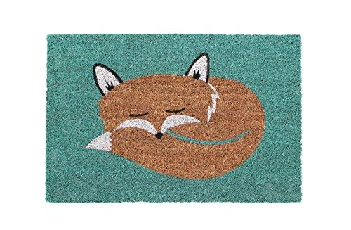 premier-housewares-fox-coir-doormat-60-x-40-cm