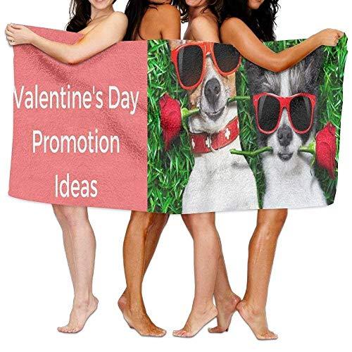 Monicago Frottiertücher Strandtücher, Beach Towel Valentine's Day Promotion Ideas 31