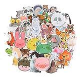 Top Aufkleber!  Set von 50 Tieren Aufkleber Premium Qualität - Vinyls Stickers Nicht Vulgär von Tier - Fashion, Bomb, Grafitti, Cool - Anpassung Laptop, Gepäck, Motorrad, Fahrrad, Skateboard