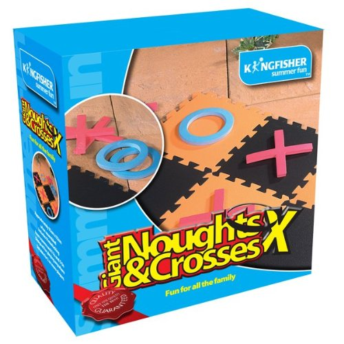 king-fisher-ga005-giant-noughts-and-crosses-juego-de-jardin