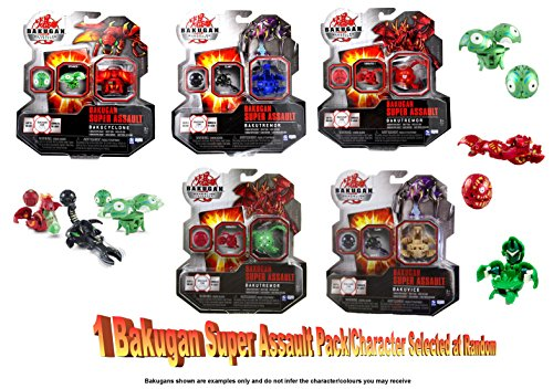 Bakugan Super Assault (1 Pack Random Selection Colours/Styles Vary)