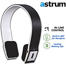 Astrum Headphone Bluetooth Raga BT White