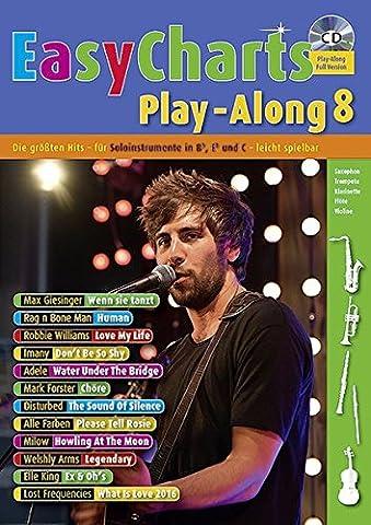 Easy Charts Play-Along: Die größten Hits spielerisch leicht gesetzt. Band 8. C/Eb/Bb-Instrument. Spielbuch mit CD. (Music (Neueste Cd)